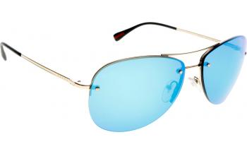 prada blue personality glasses