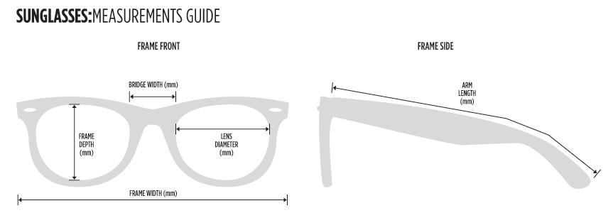 ray ban wayfarer size guide ray ban wayfarer size guide ...
