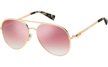 34a490fc390d In Stock. Frame: Gold Copper. Lens: Pink. Sunglasses. Marc Jacobs ...