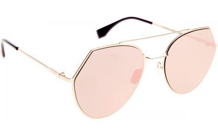 fdbc3d3525 Fendi Eyeline FF0194 S 000 2A 55 Sunglasses - Free Shipping