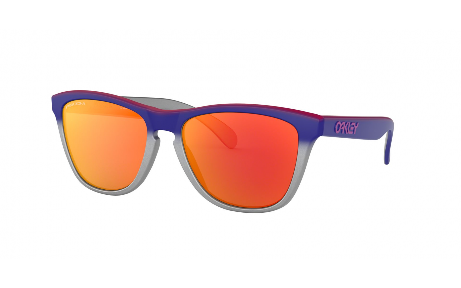 a308a1b8a2 Oakley Frogskins Splatterfade Limited Edition Pink Blue Fade Silver  OO9013-F1 - Free Shipping | Shade Station
