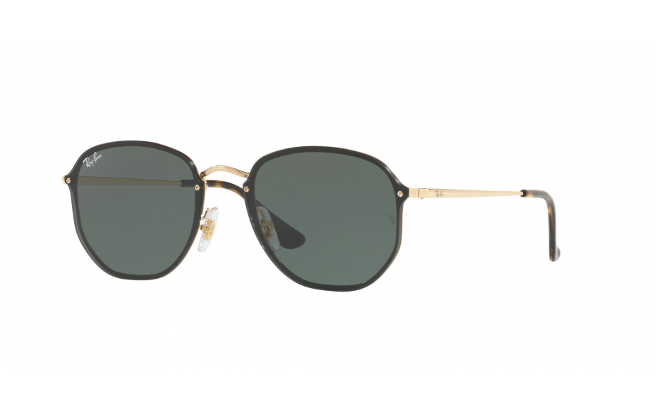 9511399e5f3d2 Ray-Ban Blaze Hexagonal RB3579N 001 71 58 Sunglasses - Free Shipping    Shade Station