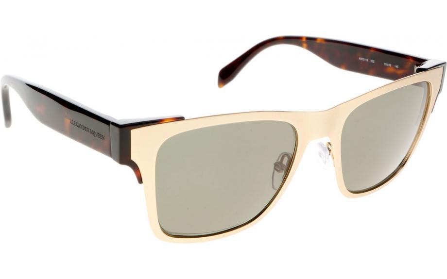 Mens Alexander Mcqueen Sunglasses  alexander mcqueen am0011s 002 53 sunglasses free shipping