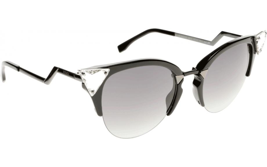 Fendi Sunglasses  fendi iridia ff ff0041 s gik 52 sunglasses free shipping shade