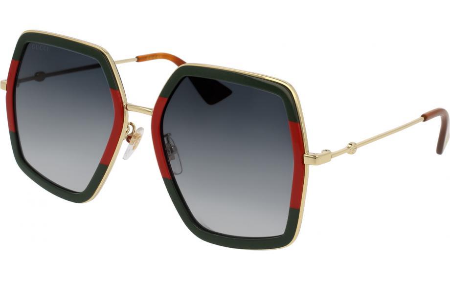 cdf1d7db7cc Gucci GG0106S 007 56 Sunglasses - Free Shipping