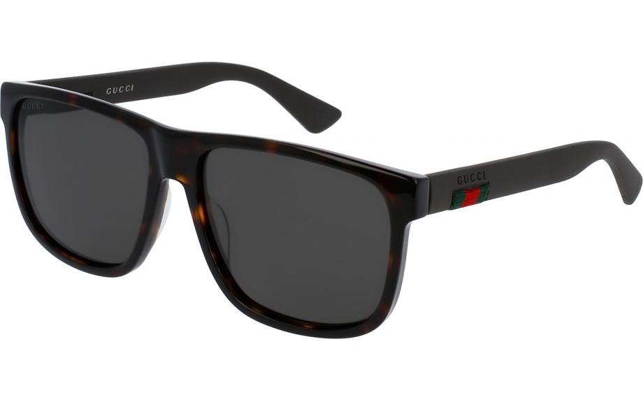 04b8980a8a4 Gucci GG0010S 003 58 Sunglasses - Free Shipping