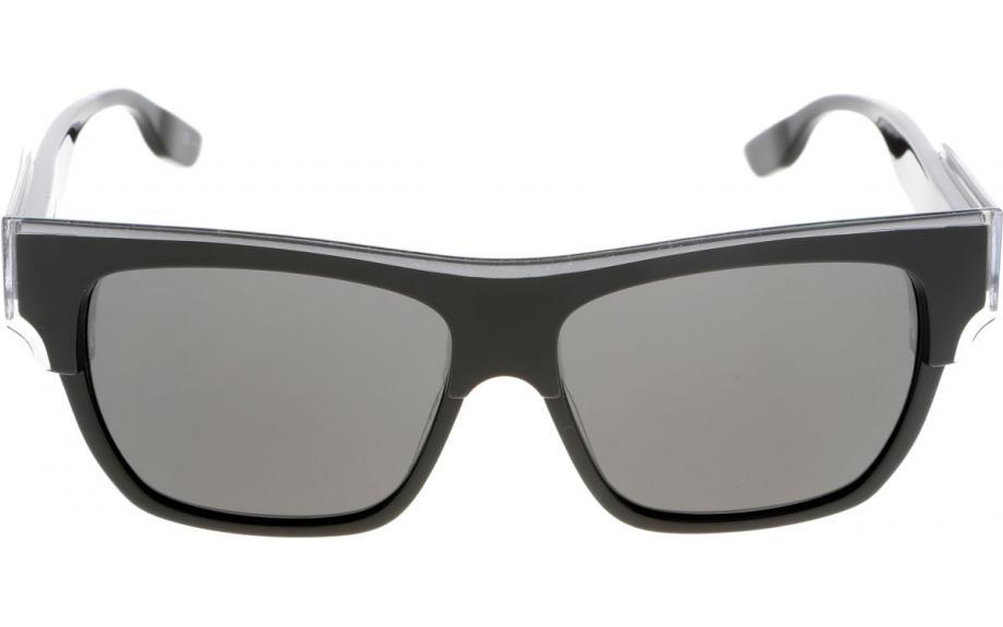 Mcq Sunglasses  mcq by alexander mcqueen mq0004s 002 55 sunglasses free shipping