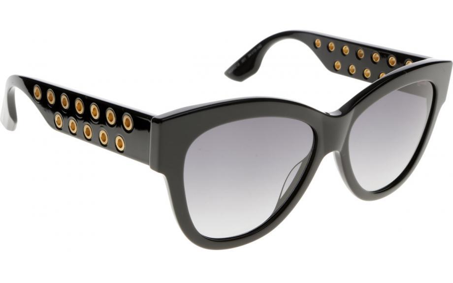 Mcq Sunglasses  mcq by alexander mcqueen mq0021s 001 54 sunglasses free shipping