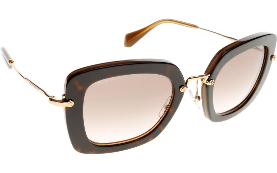 Miu Miu MU 07OS KAZ0A6 52 Sunglasses - Free Shipping | Shade Station