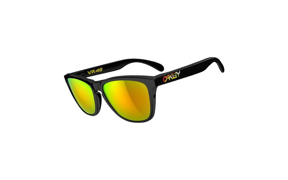 Oakley Neon Yellow Frogskin Sunglasses  oakley valentino rossi frogskins polished black 24 325 free