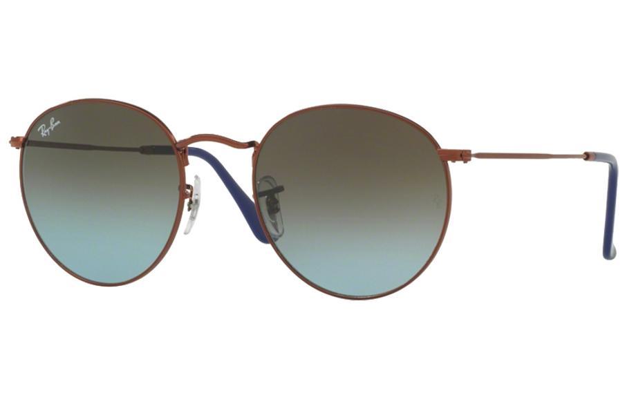 9c0936b2c1b Ray-Ban Round Metal RB3447 900396 47 Sunglasses - Free Shipping ...