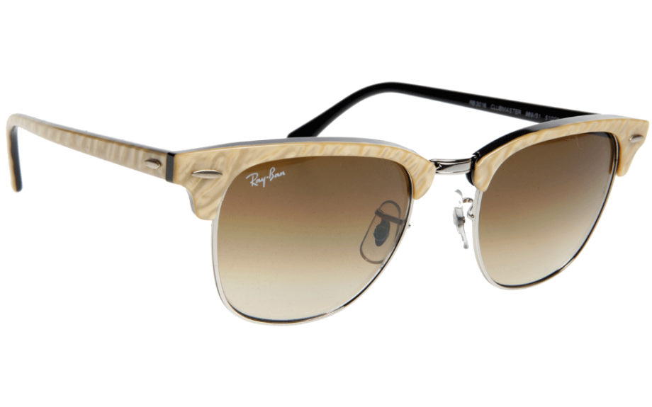rb3016 49 clubmaster  Ray-Ban Clubmaster RB3016 989/51 49 Sunglasses - Free Shipping ...