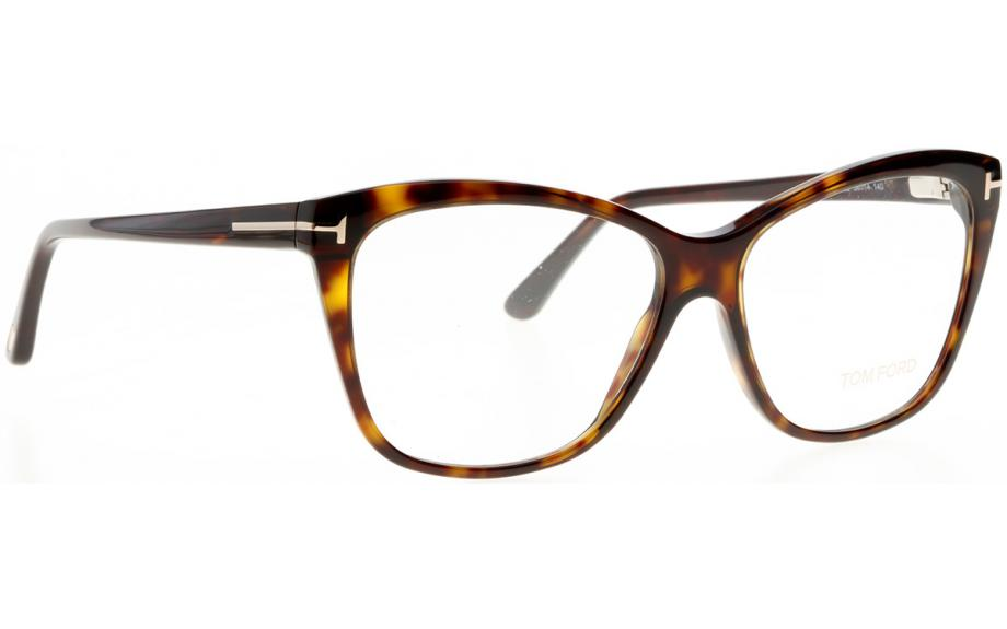 Tom Ford FT5512 052 5614 in dark havana oGSGJ - sfstreetmusic.com