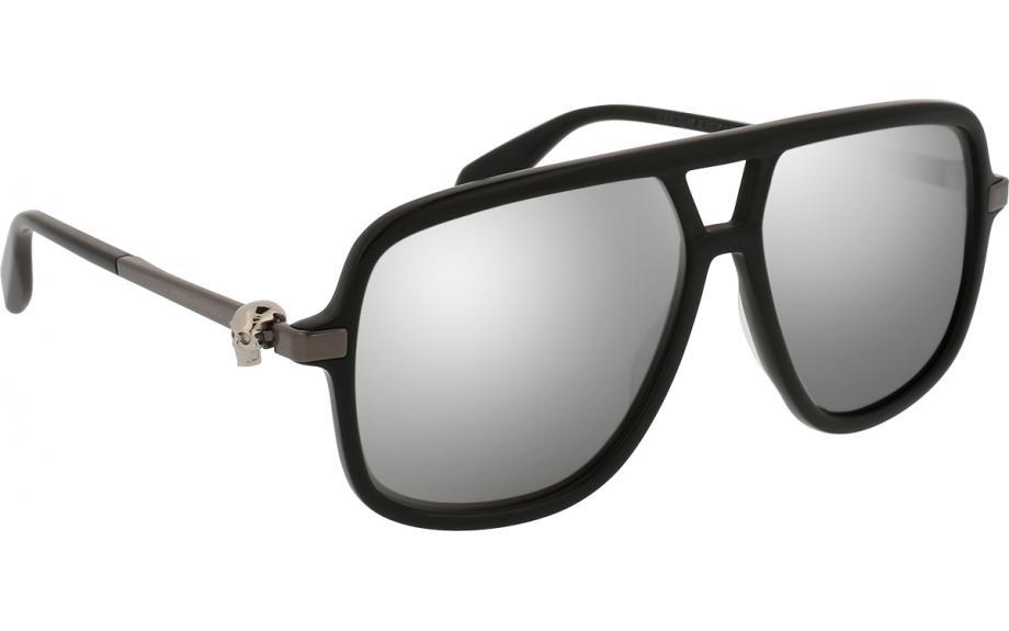 c0e83328dd6f Alexander McQueen AM0080S 002 58 Sunglasses - Free Shipping