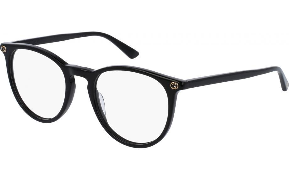 f6be11b63dd Gucci GG0027OA 001 52 Glasses - Free Shipping