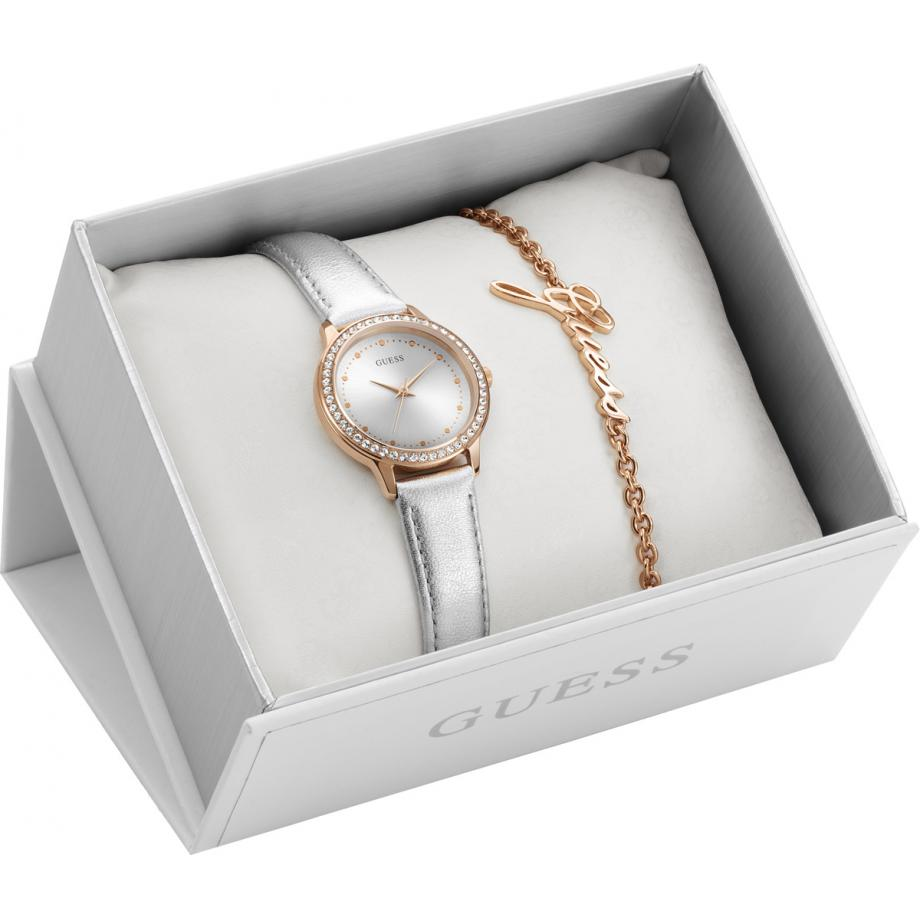 Chelsea Watch And Bracelet Gift Box Ubs82107 L Guess Watch Free