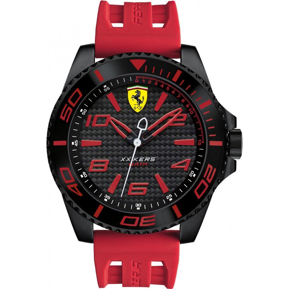 xx kers 0830308 scuderia ferrari watch - free shipping | shade station
